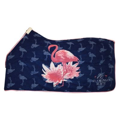 Abschwitzdecke Flamingo Dralon