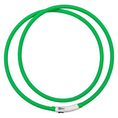 LED Leuchthalsring grün
