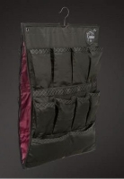 Boxenvorhang mit Kleidertasche Platinum